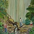 La Coco Falls El Yunque Rain Forest Puerto Rico by Frank Hunter