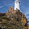 La Corbiere Lighthouse by Nigel R Bell