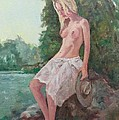 La Fille To The Pond by Alain Lutz