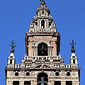 La Giralda Belfry In Seville by Artur Bogacki