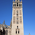 La Giralda Bell Tower In Seville by Artur Bogacki