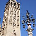 La Giralda Cathedral Tower In Seville by Artur Bogacki