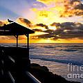La Jolla At Sunset By Diana Sainz by Diana Sainz