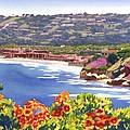La Jolla Beach And Tennis Club by Mary Helmreich