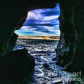 La Jolla Cave By Diana Sainz by Diana Raquel Sainz