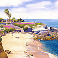 La Jolla Cove by Mary Helmreich