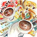 La Laguna Churros Y Chocolate by Miki De Goodaboom