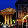 La Madeleine At Night by Colin Woods