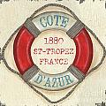 La Mer Cote D'azur by Debbie DeWitt