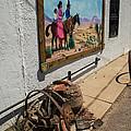 La Mesilla Outdoor Mural by Allen Sheffield