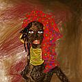 La Mujer De Africa  by Maricela Del Rio