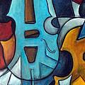 La Musique 2 by Valerie Vescovi
