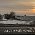 La Pace Sulla Terra With A Winter Sunrise by Imagery by Charly