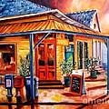 La Peniche In New Orleans by Diane Millsap