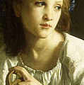 La Petite Ophelie by William Adolphe Bouguereau