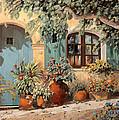 La Porta Azzurra by Guido Borelli