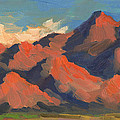 La Quinta Mountains Morning by Diane McClary