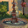 La Quinta Resort Fountain by Diane McClary
