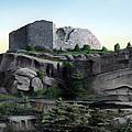 La Rocca De Monte Calvo by Albert Puskaric
