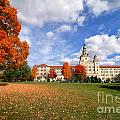 La Roche College On A Fall Day by Amy Cicconi