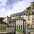 La Roche Guyon Castle by Olivier Le Queinec