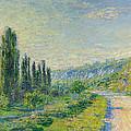 La Route De Vetheuil by Claude Monet