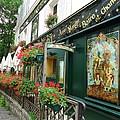La Terrasse In Montmartre by Barbie Corbett-Newmin