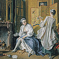 La Toilette by Francois Boucher