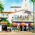 La Valencia Hotel by Mary Helmreich