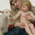 La Vierge A Lagneau by William-Adolphe Bouguereau