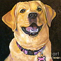 Lab Adorable by Susan A Becker