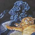 Labrador Love by Lee Ann Shepard