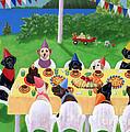 Labrador Party by Naomi Ochiai