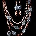 Labradorite And Copper by Jan Brieger-Scranton