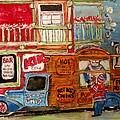 Lachine Chip Wagon by Michael Litvack