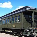 Lackawana #595 Vintage Passenger Coach by Charles Robinson