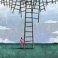 Ladder Cluster by Steve Dininno