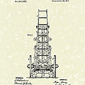 Ladders 1874 Patent Art by Prior Art Design