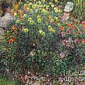 Ladies In Flowers by Claude Monet