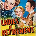 Ladies In Retirement, Us Poster, Ida by Everett