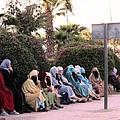 Ladies In Waiting by Teresa Ruiz