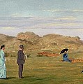 Ladies Match At Westward Ho by Francis Powell Hopkins