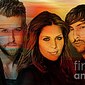 Lady Antebellum by Marvin Blaine