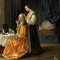 Lady At Her Toilet by Netherlandish School