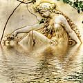 Lady Bathing 2 by Kaye Menner