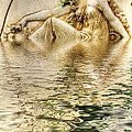 Lady Bathing by Kaye Menner