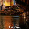 Lady Bird Lake In Fall by James Granberry