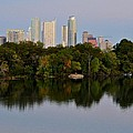 Lady Bird Lake In Austin Texas by Kristina Deane