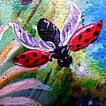Lady Bug Landing by Dori Anderson