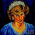 Lady Diana Portrait by John Malone